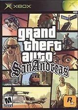 Grand Theft Auto: San Andreas and GTA Vice City -  2 game lot! Microsoft Xbox)