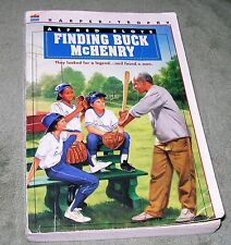 FINDING BUCK McHENRY by Alfred Slote 1993 Large Trade Paperback ~ 1st Edition
