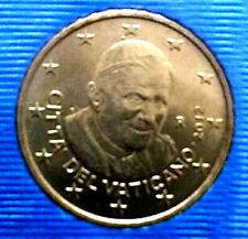 50 CENT OFFICIEL DU COFFRET VATICAN 2012 BENOIT XVI UNC-Neuve
