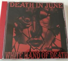 DEATH IN JUNE THE WHITE HANDS OF DEATH LIVE VENICE 1985 CDR Ltd Ed 12/50