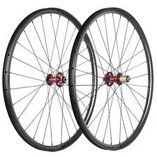 29er Hookless MTB Carbon Wheelset 6 Bolt Disc Brake Hub 9*100  Rear 10*135mm QR
