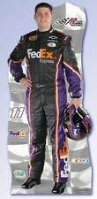 DENNY HAMLIN #11 (Fed Ex) NASCAR Life Size Standup/Standee/Cardboard FREE MINI