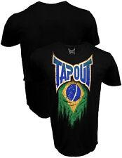 Tapout Brazil Brasil Flag Adult T-shirt - Official UFC MMA Kickboxing Apparel