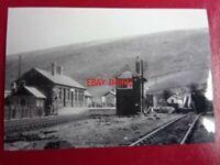 PHOTO  CYMMER AFAN RAILWAY STATION AND SIGNAL BOX
