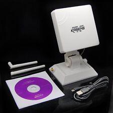 Kasens 6000mw 2.4 g De Alta Potencia Usb Wireless Adaptador Wifi Decodificador 68dbi Antena