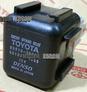 Oem EFI Circuit Opening Relay TOYOTA COROLLA AE86 MR2 SUPRA STARLET 85910-30050