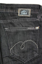 Mavi Women's Factory Faded Black Wash Molly Flare Jeans Size 27 X 28.5 AWESOME