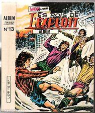 ALBUM LES ROIS DE L'EXPLOIT n°13 ¤ n°37-38-39 ¤ 1982 mon journal