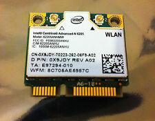 Dell Intel Centrino Advanced-N 6205 Wireless Half Mini-Card 300 Mbps 0X9JDY