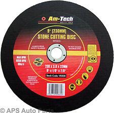 "230mm 9"" Stone Cutting Disc Stone Saw Grinder Blade Masonary Hard Brick Concrete"