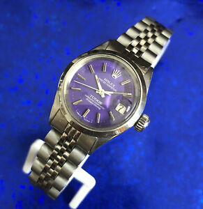 Vintage Ladies ROLEX-TUDOR Perpetual Oyster, Stunning Dial, Serviced w/ Warranty