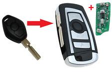 NEU Umbau Schlüssel für BMW E46 mit Sendeeinheit 433 MHZ Fernbedienung HU58
