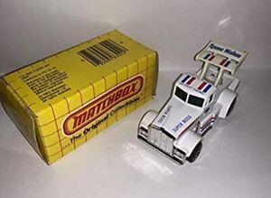 Matchbox MB 58 Truck Camper White Mint On Card 1999