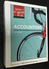 Accounting: Tools for Business Decision Making by Kieso, Weygandt Kimmel  6TH Ed