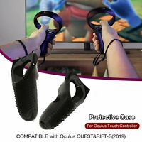 For Oculus Quest/Rift S VR Silicone Anti-skid Handle Protector Sleeve Cover Case