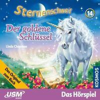 STERNENSCHWEIF - FOLGE 14: DER GOLDENE SCHLÜSSEL  CD NEW