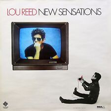 Lou Reed 1984 New Sensations Promo Poster Original
