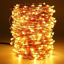 HaMi 66ft 200 LED String Lights,Waterproof Christmas Fairy with UL Certified, De