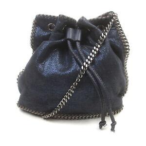 Stella McCartney Shoulder Bag  Dark Blue polyester 2408259