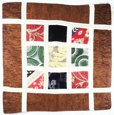 TRADITIONAL TURKISH PATCH WORK DESIGN CUSHION COVER