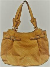 Jessica Simpson Women's Honey Sasha Crocodile Embossed Tote Handbag MSRP $115