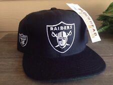 VTG Rare American Needle Oakland Raiders Blockhead Snapback New DS Hip Hop NWA
