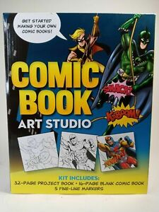 Walter Foster Comic Book Art Studio Set - Create Your Own Comic Book Fun DIY Kit