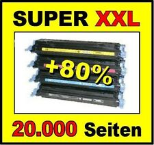 4 x Toner für HP Color Laserjet Pro 300 M351a 400 M451dw wie CE410X -CE413A 305A