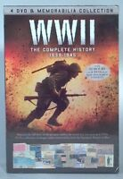 WWII The Complete History 1939-1945 4 DVD Set- New!