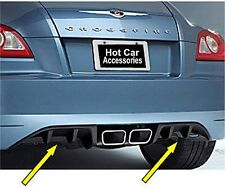 Chrysler Crossfire 2004-09  Rear Bumper Accent Trim Diffuser - 2pc  # 82209208