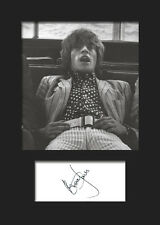 BRIAN JONES #3 (Rolling Stones) Signed A5 Mounted Photo Print - FREE DELIVERY