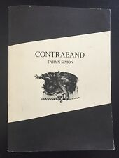 "TARYN SIMON - ""CONTRABAND"" - 1ST EDITION - STENDL / GAGOSIAN - 2010"