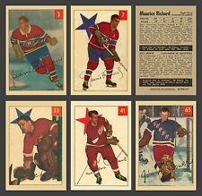 1954-55 Parkhurst Complete Set Reprint (100 cards) Mint, In Pocket Sheet Album