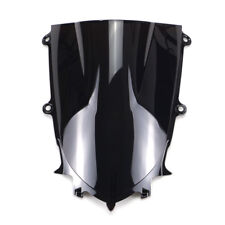 Black Motorcycle Windshield Windscreen For Yamaha YZF-R6 2017-2018