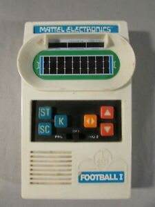 Vintage 1977 Mattel Electronics Football I Handheld Game