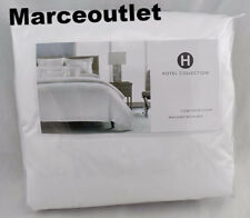 Hotel Collection Coordinated Basics Embroidered Frame QUEEN Duvet Cover White