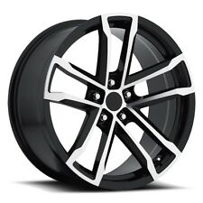 (4) 18x8 Black Machine Style 41 ZL1 Fits Camaro 2010 - Up Wheels Rims Set