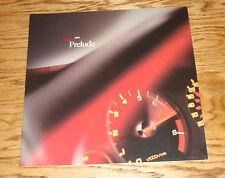 Original 2001 Honda Prelude Deluxe Sales Brochure 01