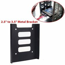NEW 2.5'' to 3.5'' PC SSD HDD Hard Drive Metal Tray Mounting Bracket Kit Adapter