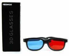 DOMO nHance CM230B Anaglyph Passive Red and Blue Video 3D Glasses Strong frame
