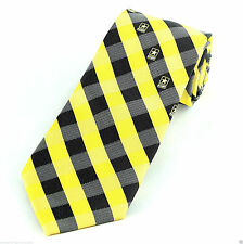 Plaids checks tie army ties for men ebay us army star checks mens necktie patriotic military woven black yellow tie new ccuart Choice Image