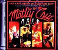 MOTLEY CRUE LIVE IN TOKYO JPN 1987 SMOKIN' IN THE BOYS ROOM HEAVY METAL M0