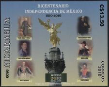 Nicaragua HB 319 2011 Bicentennial of the Independence of mexico mnh