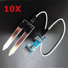 10Pcs Soil Hygrometer Humidity Detection Moisture Sensor For Arduino