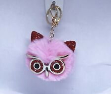 New Fluffy Pom Pom Keyring