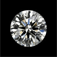 Natural White Diamond H Color 0.98cts 6.5mm Round Shape VVS2 Clarity