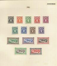 ZANZIBAR 1946-67 VERY USEFUL START UP COLLN  (300+)