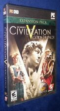 Civilization V Gods And Kings Expansion Pack Brand New PC SID Meiers