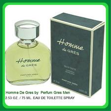 Homme De Gres by Parfums Gres Men 2.53 oz Eau de Toilette Spray In Box SEALED