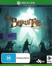 The Bards Tale IV 4 Directors Cut XBox One Fantasy Role Play Game Microsoft XB1